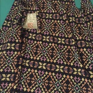 Lularoe Xs Joy Multi Color new with tags